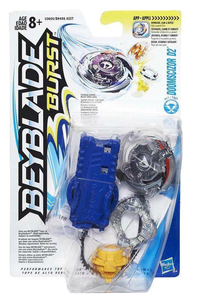Kit Iniciante Beyblade Burst: Doomscizor D2 - Hasbro