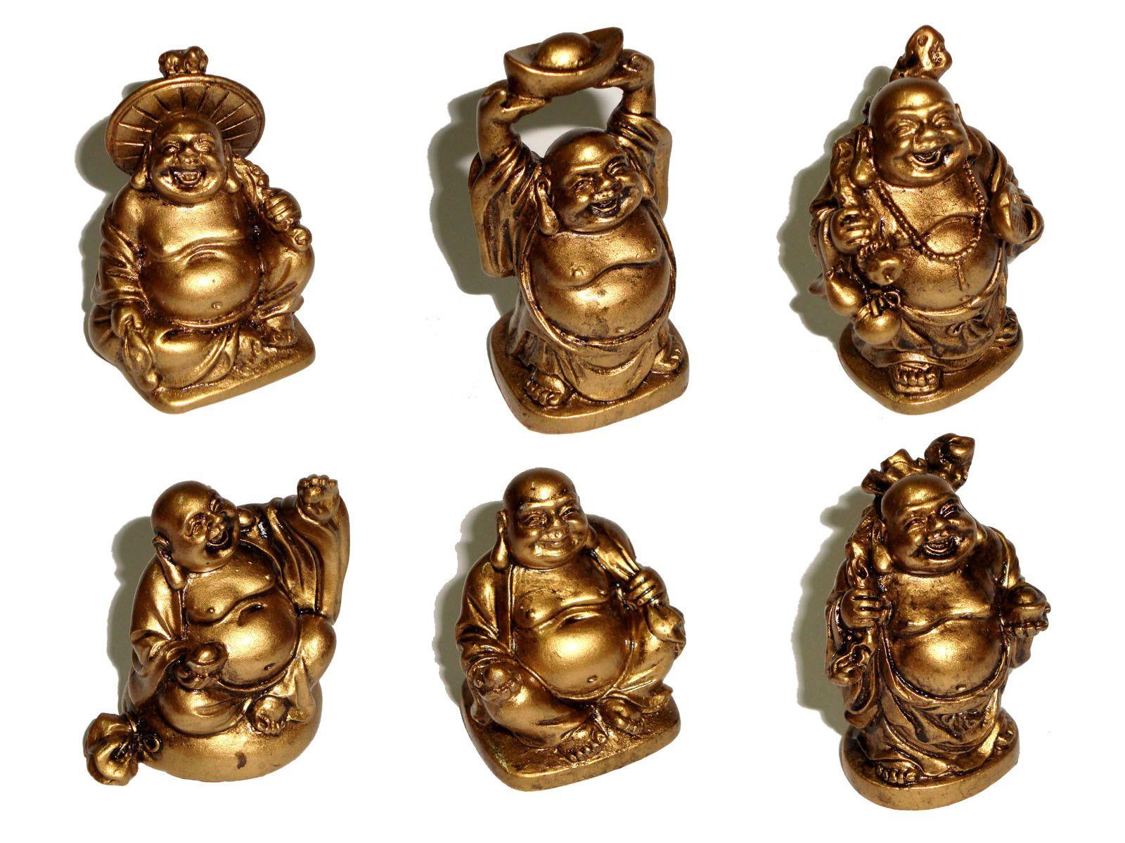 Kit Mini Buda (6 Peças)