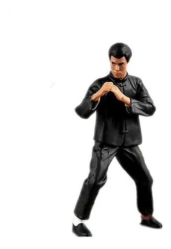 Kit Mini Figuras Bruce Lee: Desdly Mission, Flexibe Tiger, Intercepting Fist, Rising Dragon