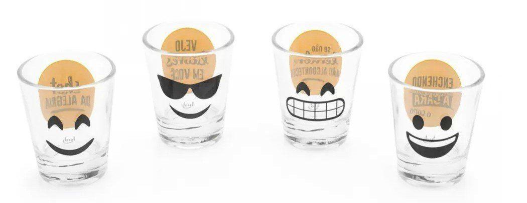 Kit Minicopos (Shot) Emoji 50ml