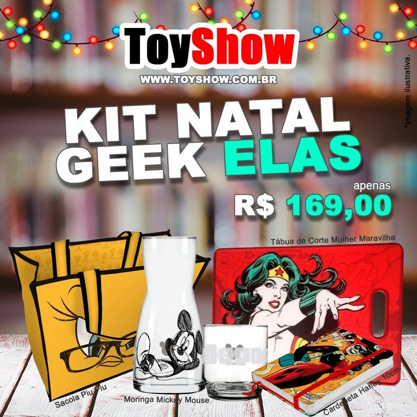 Kit Natal Geek Combo Elas