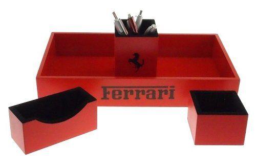Kit Office Ferrari (Vermelho)