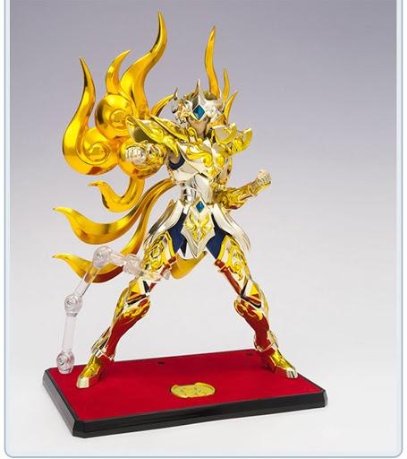 Kit Para 3 Action Figures Set Display Base Os Cavaleiros do Zodíaco Soul Of Gold Saint Seiya Saint Cloth Myth Ex -Bandai - Anime Mangá