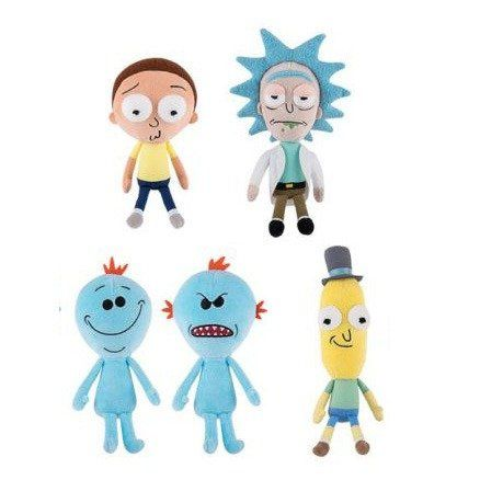 Kit Pelúcia Rick and Morty