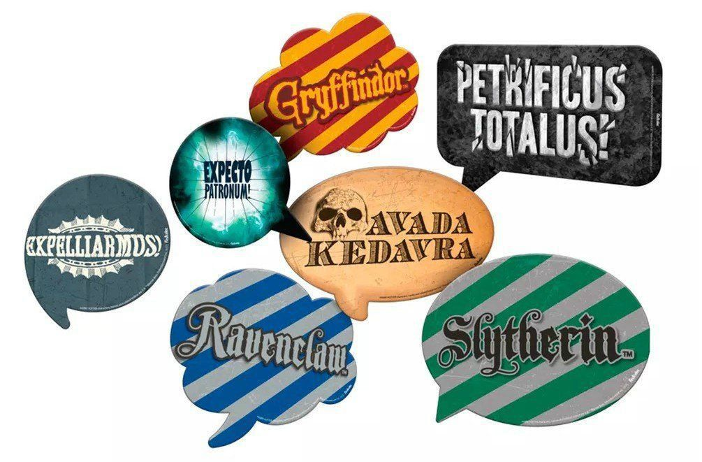 Kit Placas: Harry Potter - Festcolor