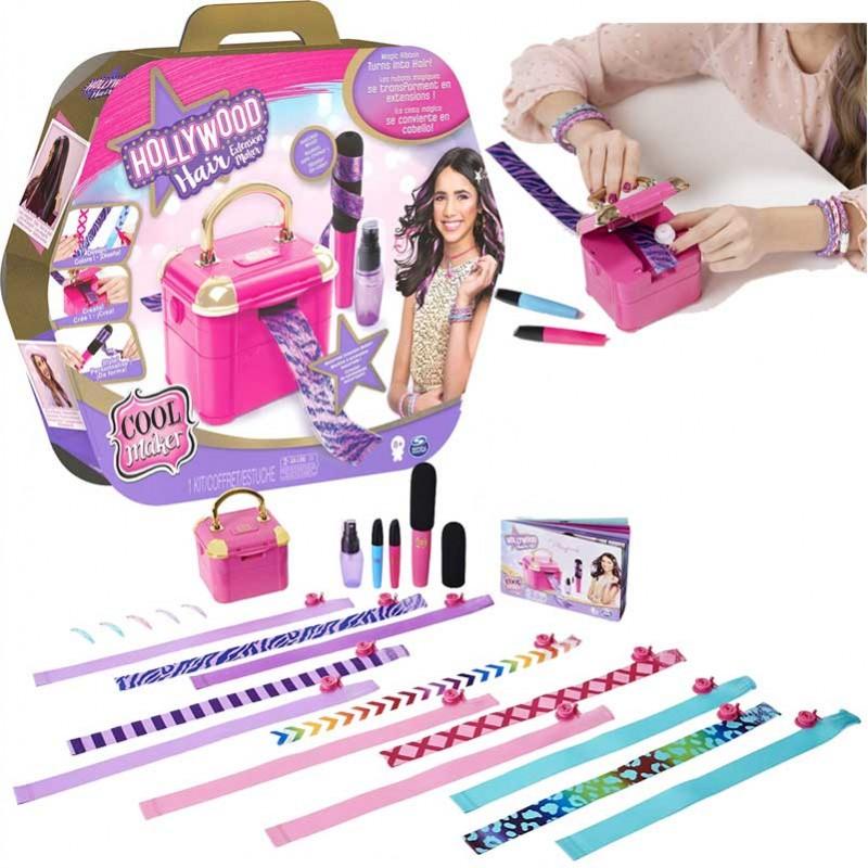 Kit Salão de Beleza Hollywood Hair Extension Maker - Sunny