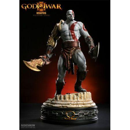 Kratos God of War Estátua Polystone - Sideshow