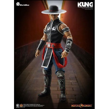 Action Figure Kung Lao: Mortal Kombat (Escala 1/6) - Worldbox