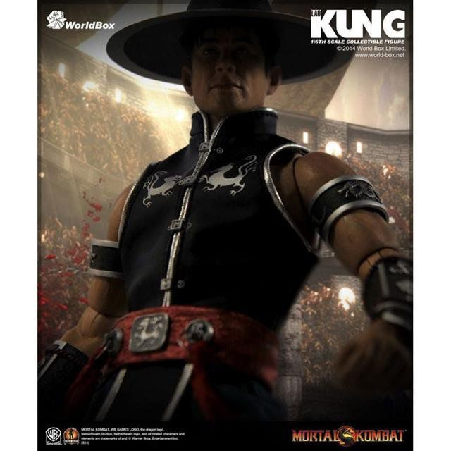 Action Figure Kung Lao: Mortal Kombat (Escala 1/6) - Worldbox