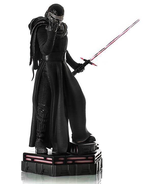 Estátua Kylo Ren: Star Wars: O Despertar da Força Legacy Réplica Escala 1/4 - Iron Studios