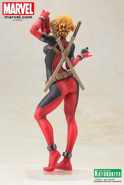 Lady Deadpool Bishoujo Estatua - Kotobukiya