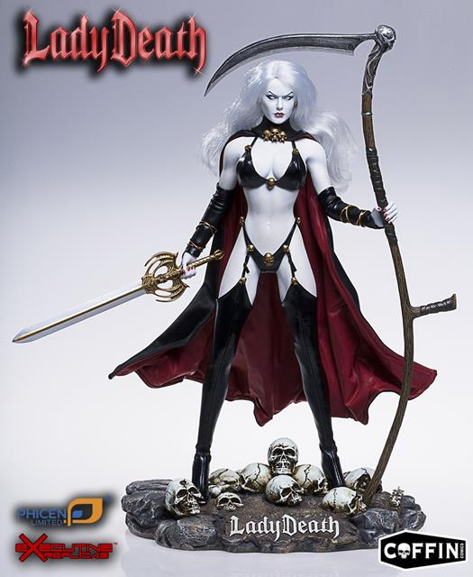 Lady Death Escala 1/6 - Phicen