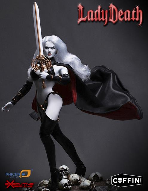Lady Death Escala 1/6 - Phicen