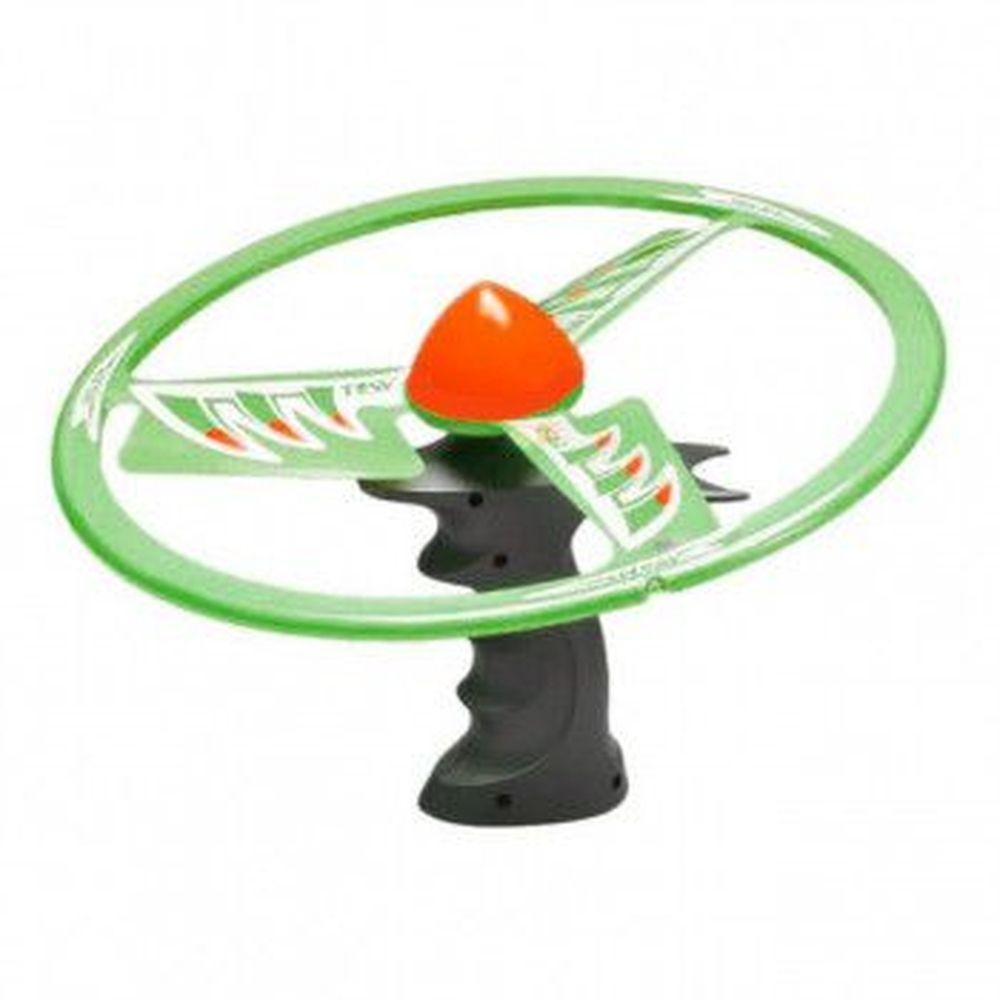 Lançador Disco Flash: Disco Bumerangue (Verde) - DTC