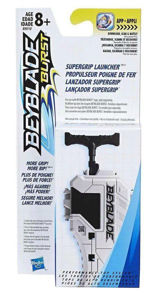 Lançador Supergrip: Beyblade Burst - Hasbro