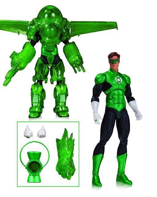 Lanterna Verde Hal Jordan Dark Days Deluxe DC Icons - DC Collectibles