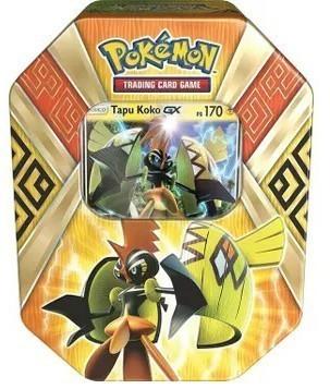 Lata Pokemon: GX Guardiões das Ilhas: Tapu Koko - Copag