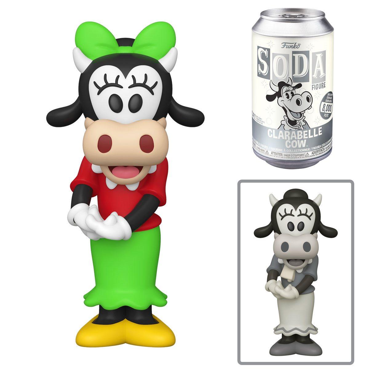 PRÉ VENDA: Lata Pop! Clarabelle Cow: Disney Vinyl Soda: ( Edição Limitada) - Funko