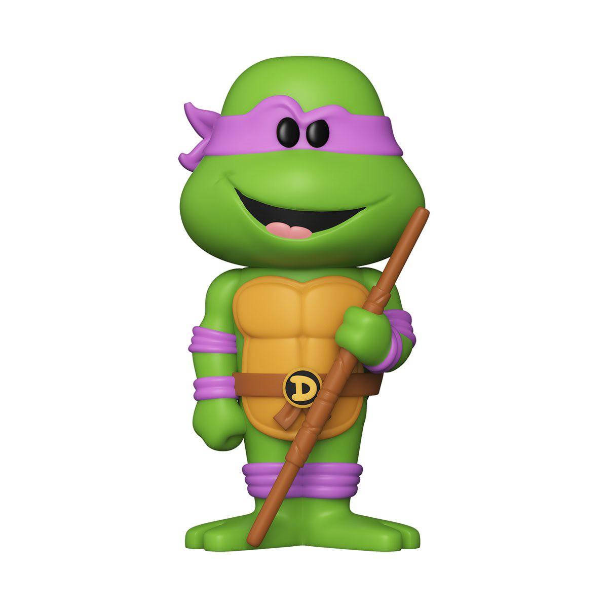 PRÉ VENDA: Lata Pop! Donatello : Tartarugas Ninjas - TMNT Vinyl Soda: ( Edição Limitada) - Funko