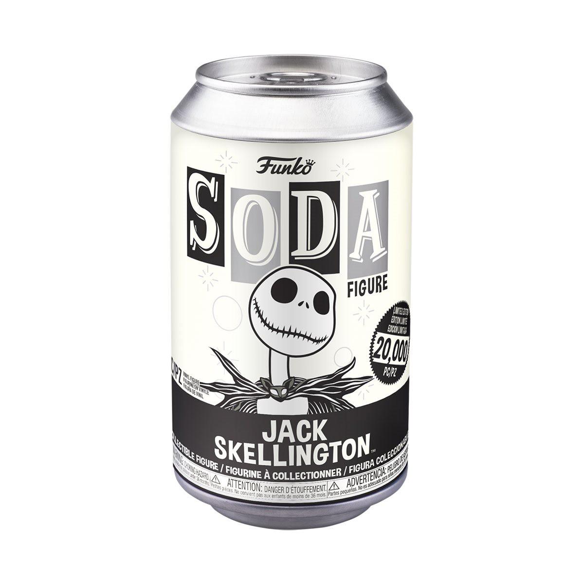 PRÉ VENDA: Lata Pop! Jack Skellington: The Nightmare Before Christmas Vinyl Soda: ( Edição Limitada) - Funko