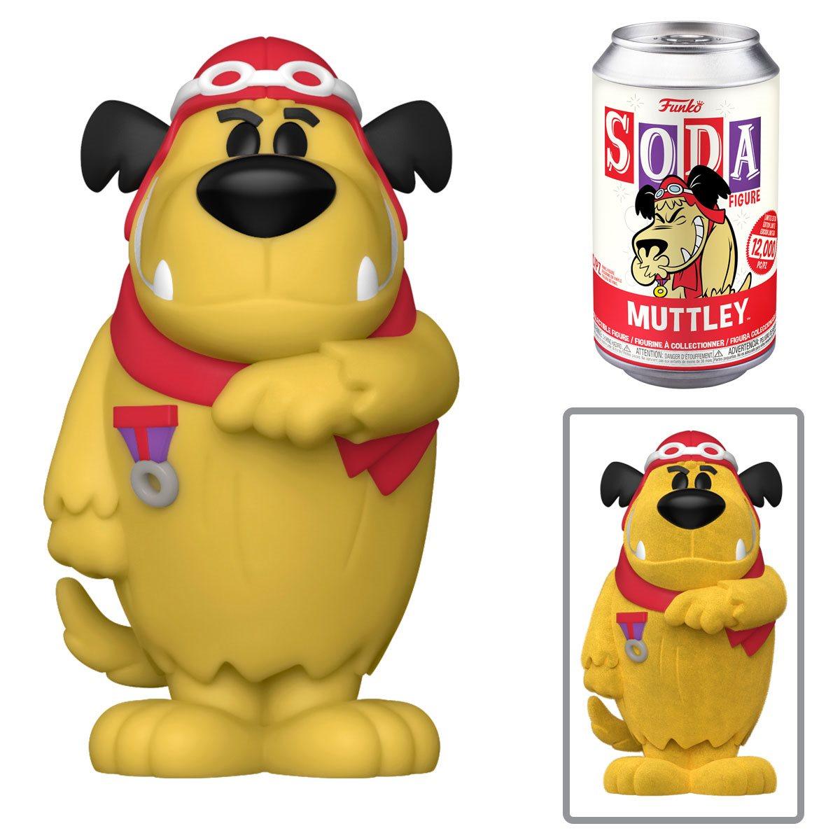 PRÉ VENDA: Lata Pop! Muttley: Hanna Barbera Vinyl Soda: ( Edição Limitada) - Funko