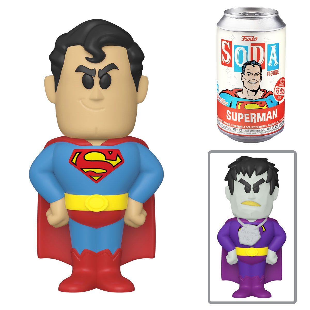 PRÉ VENDA: Lata Pop! Superman: DC Comics Vinyl Soda: ( Edição Limitada) - Funko