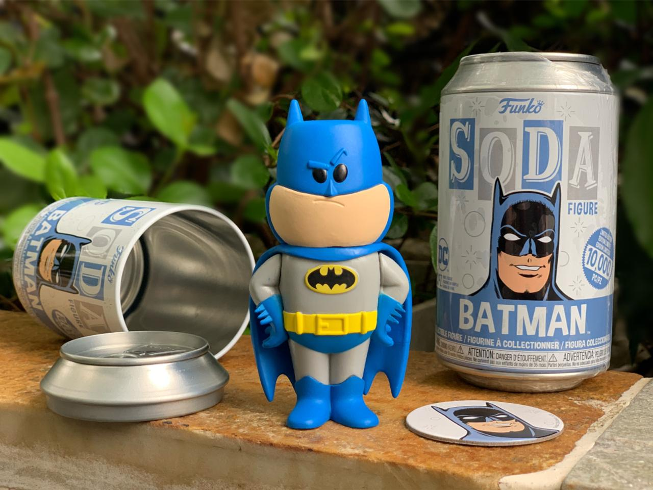 Funko Lata Pop: The Batman: Batman (Vinyl Soda) (Edição Limitada) - Funko