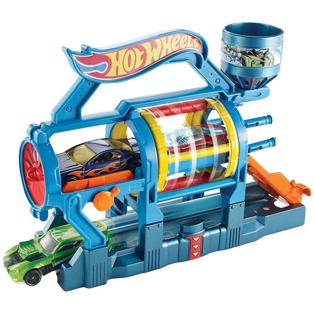 Lava-Rápido Turbo: Hot Wheels - Mattel