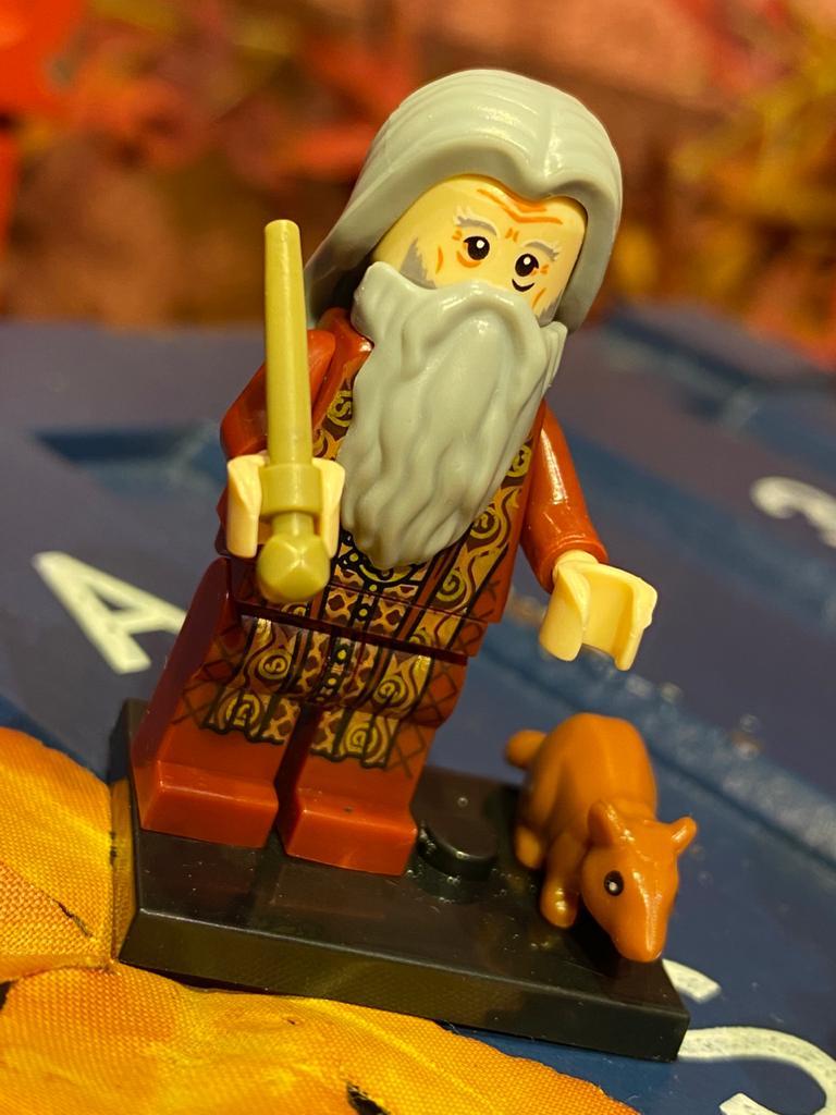 LEGO: Albus Dumbledore Torneio Tribruxo - Harry Potter