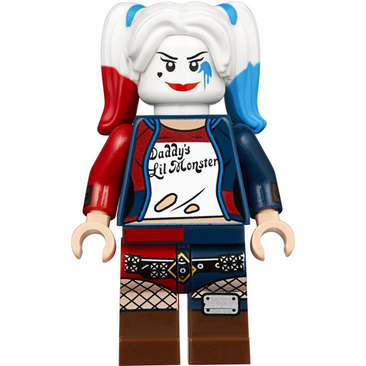"LEGO Arlequina ""Harley Quinn"" Daddy's Lil Monster - DC Comics"