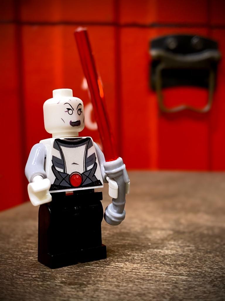 LEGO Asajj Ventress: Star Wars Clone Wars - Bloco de Montar