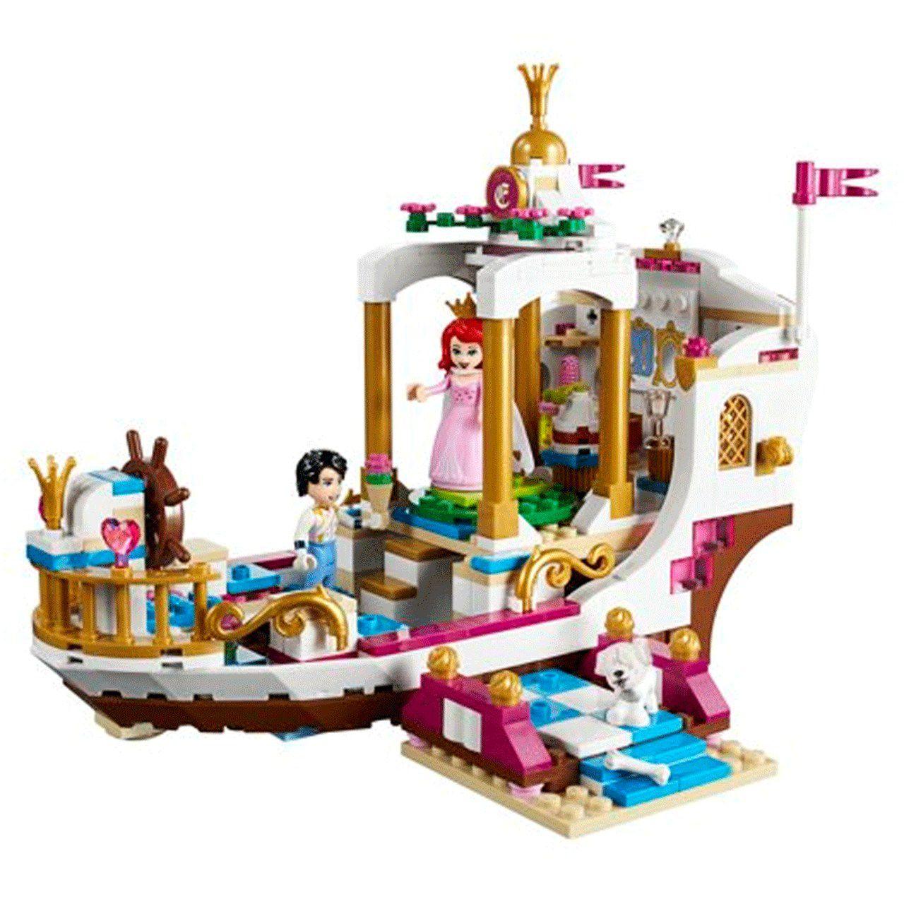 LEGO Barco Celebração Real Ariel: A Pequena Sereia (Disney) 380 Peças (Apenas Venda Online)