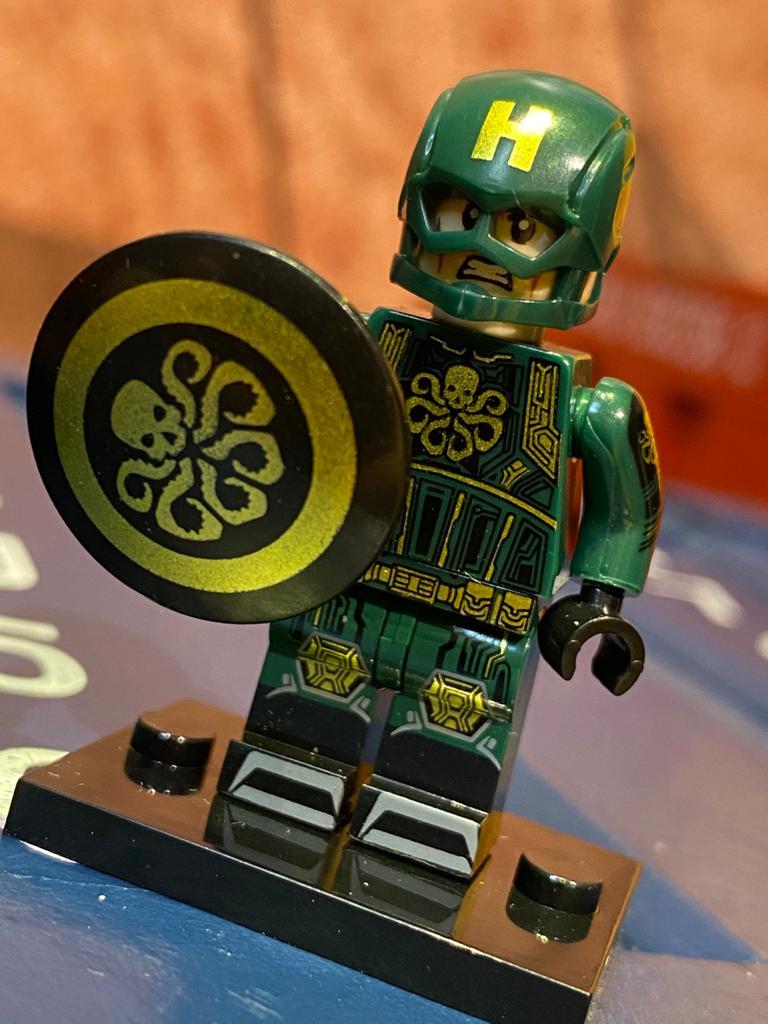 LEGO Capitão América (Hidra Traje Verde) - Marvel