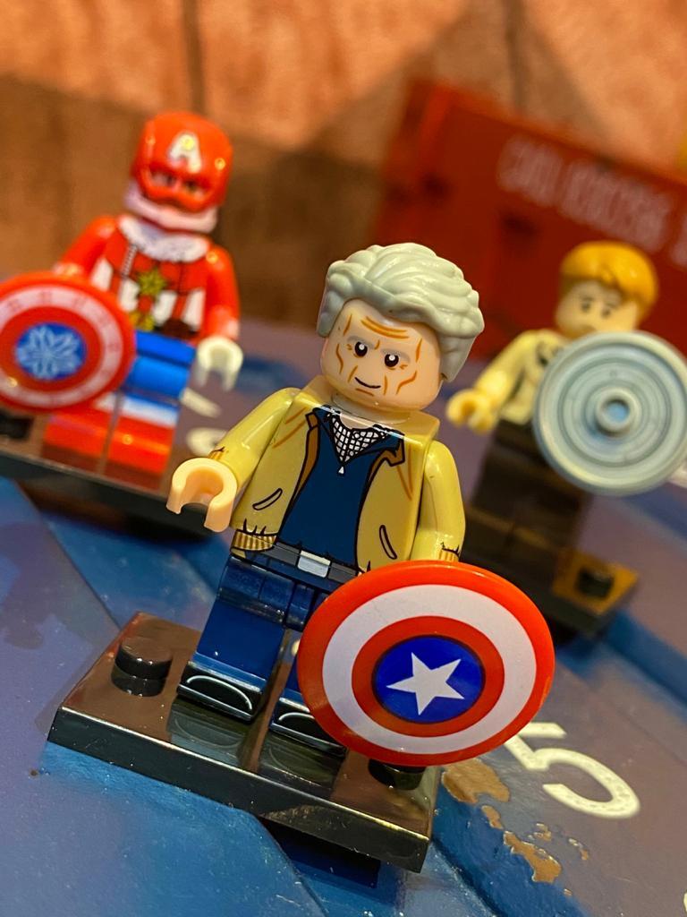 LEGO Capitão América (Velho) - Marvel