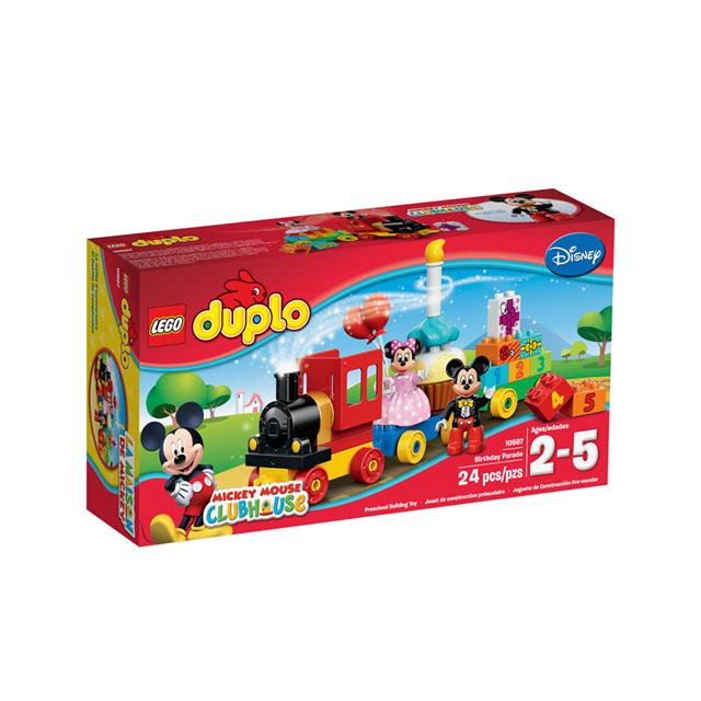 LEGO DisneyCars: O Desfile de Aniversário do Mickey e da Minnie