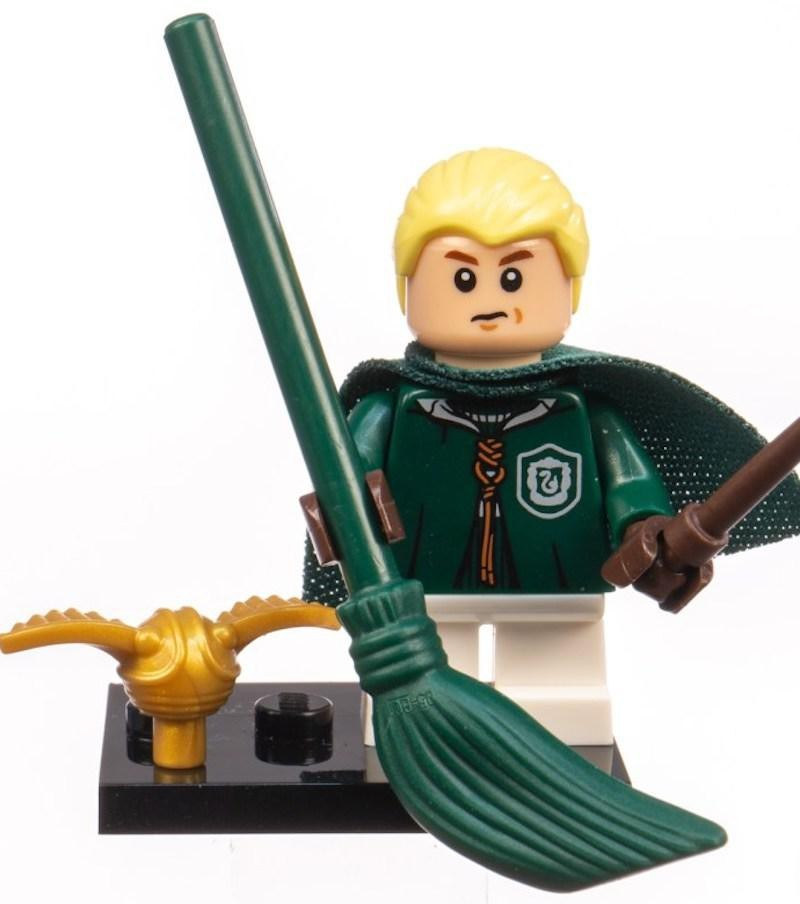LEGO: Draco Malfoy Uniforme de Quadribol - Harry Potter