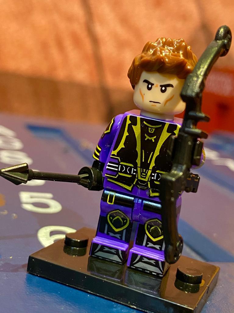 LEGO Gavião Arqueiro - Marvel