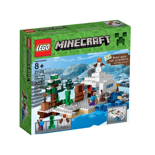 LEGO Minecraft - O Esconderijo da Neve