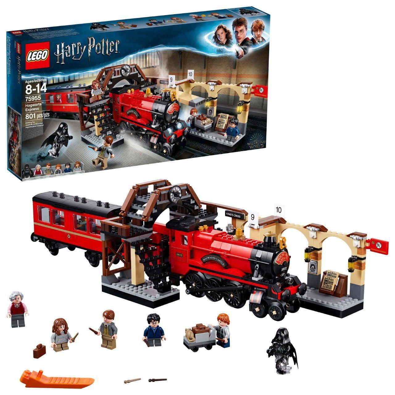 LEGO O Expresso de Hogwarts: Harry Potter (75955) - (801 peças) (Apenas Venda Online)