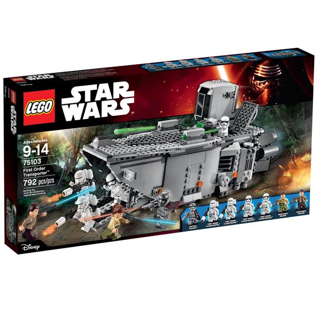 LEGO Star Wars - Transporter da Primeira Ordem