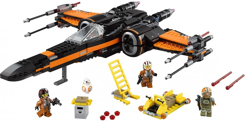 LEGO Star Wars - X-Wing Fighter do Poe