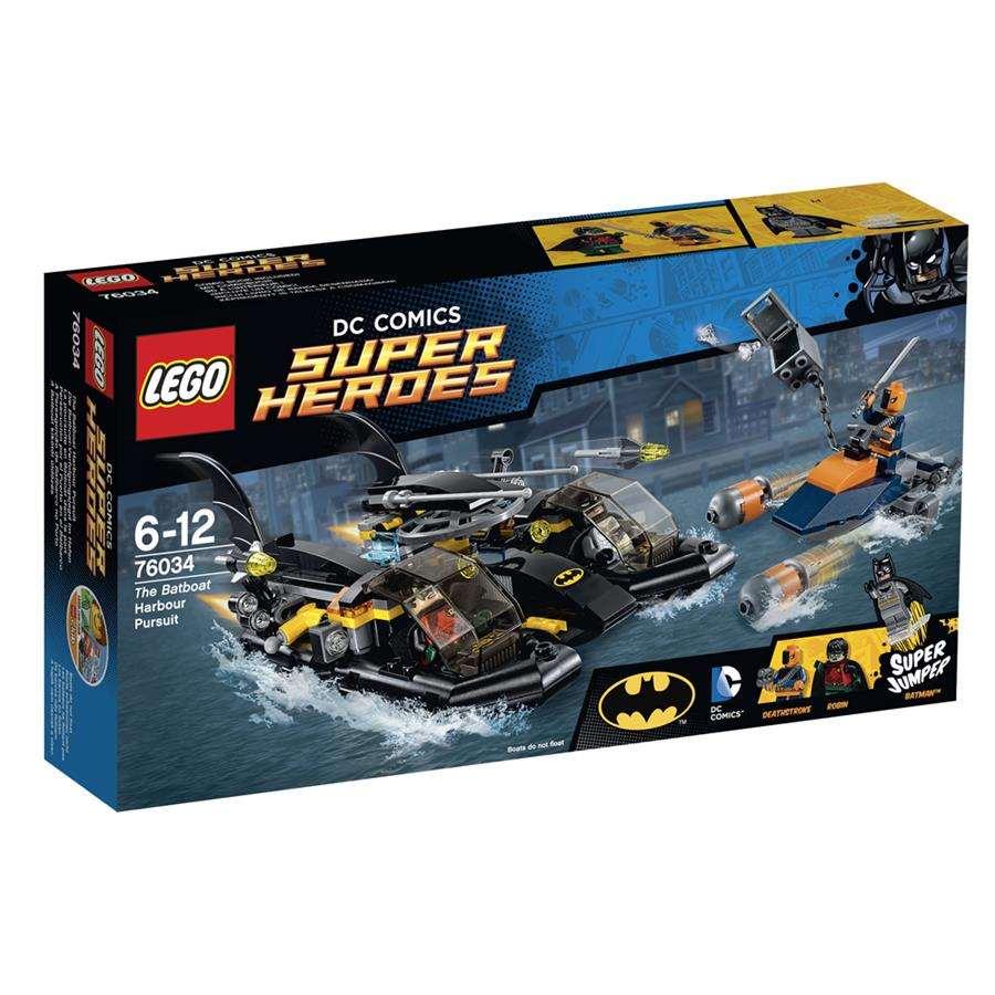 LEGO Super Heroes DC Comics - A Perseguição de Batbarco no Porto