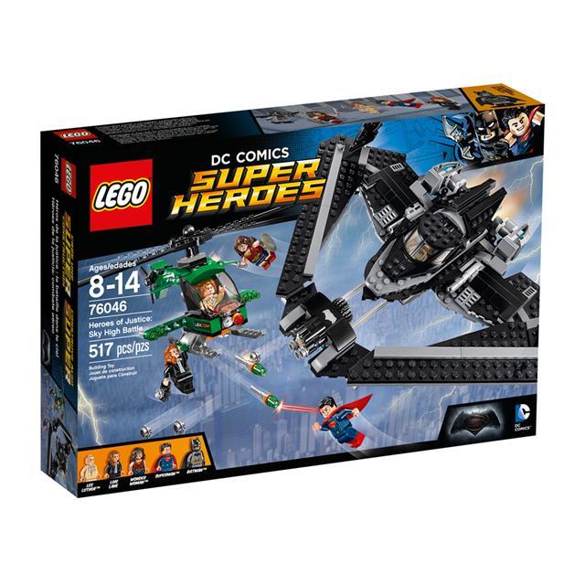 LEGO Super Heroes DC Comics - Heróis de Justiça: Combate no Alto do Céu
