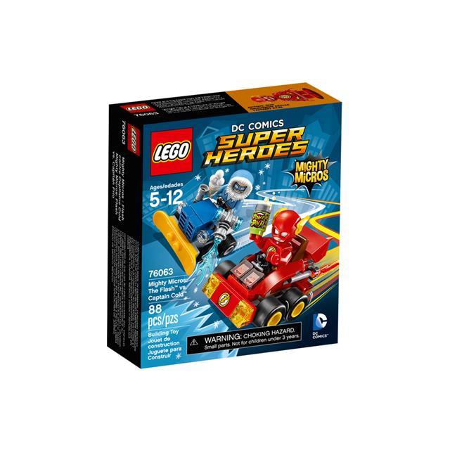 LEGO Super Heroes DC Comics - Poderosos Micros: Flash contra Capitão Frio
