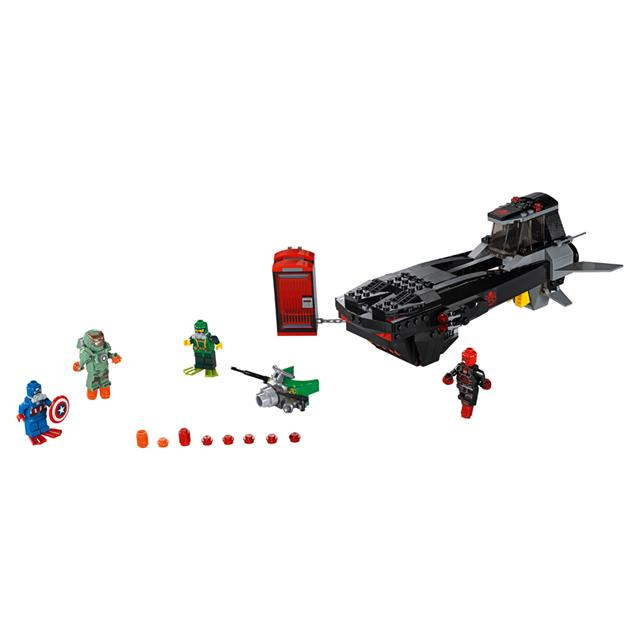 LEGO Super Heroes Marvel - Ataque de Submarino do Caveira de Ferro