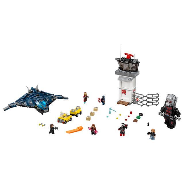 LEGO Super Heroes Marvel - Batalha no Aeroporto