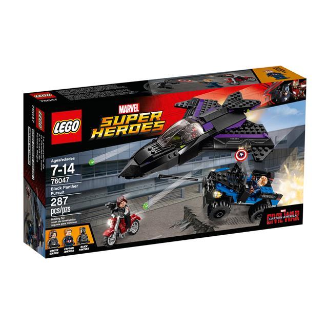 LEGO Super Heroes Marvel - Perseguição do Pantera Negra