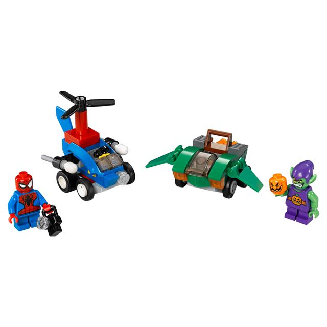 LEGO Super Heroes Marvel - Poderosos Micros: Homem-Aranha contra Duende-Verde