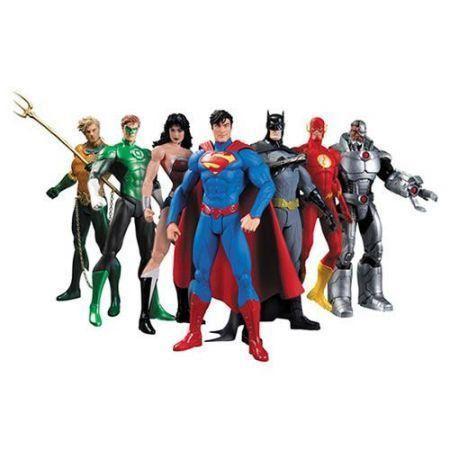 Liga da Justiça New 52 Super Heróis Figuras - Dc Collectibles