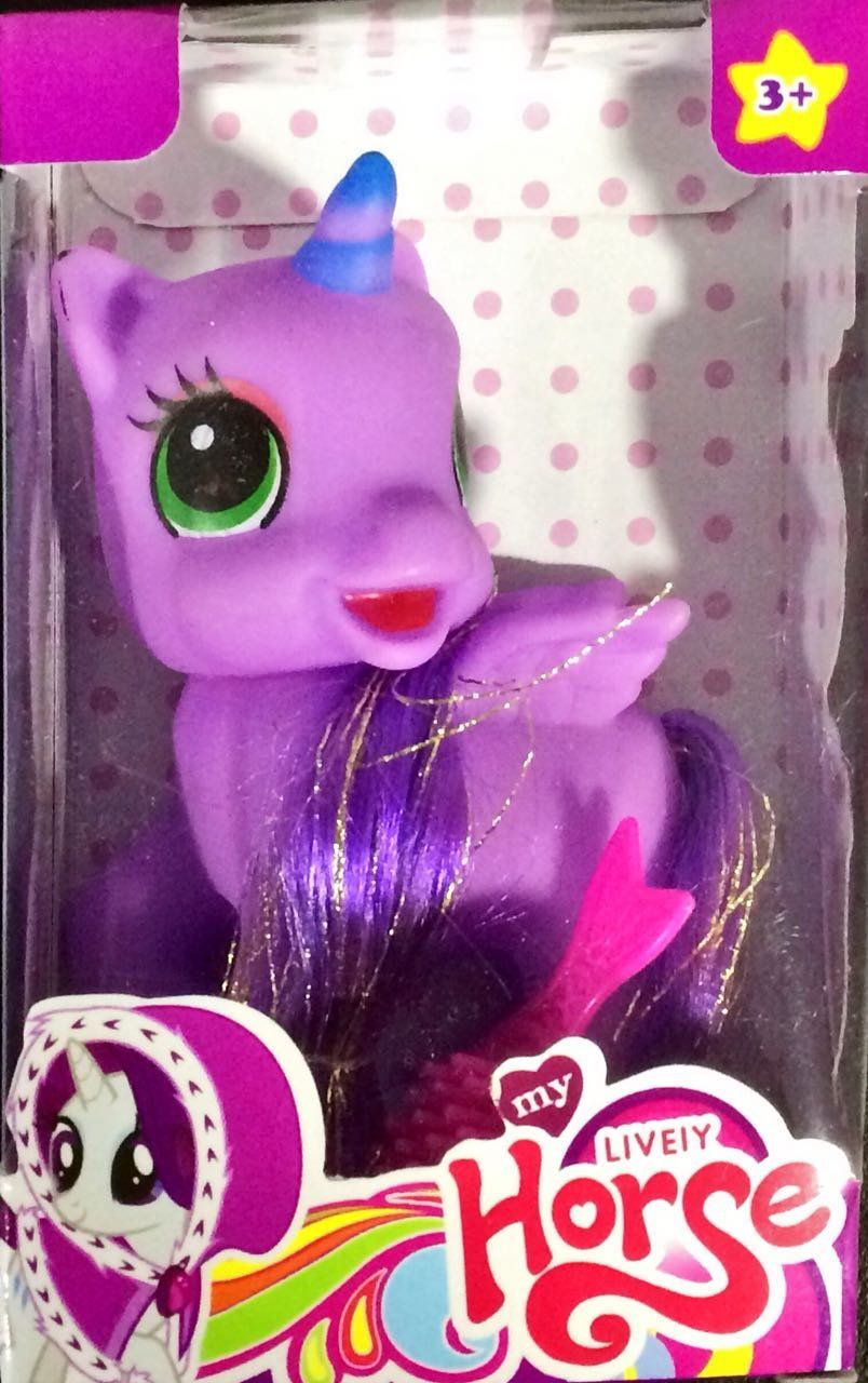 Little Pony: Ponei Lilas Pequeno
